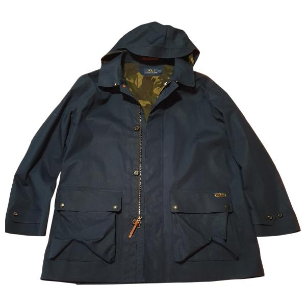 Polo Ralph Lauren Blue Cotton Jacket