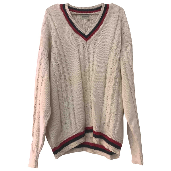 Sergio Tacchini White Wool Knitwear & Sweatshirts