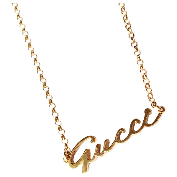 Gucci Gold Yellow Gold Necklace