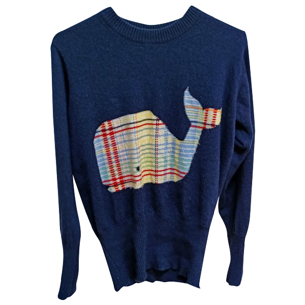 Thom Browne Navy Cashmere Knitwear & Sweatshirts