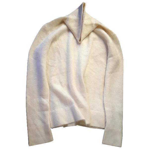 Issey Miyake Ecru Cashmere Knitwear