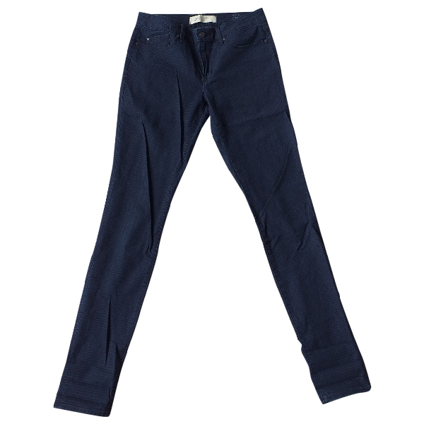 Marc By Marc Jacobs Blue Cotton - Elasthane Jeans