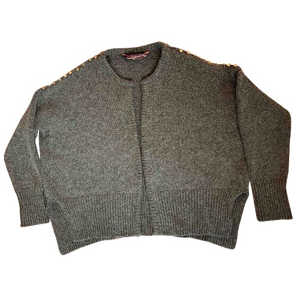 Antonia Zander Grey Cashmere Knitwear