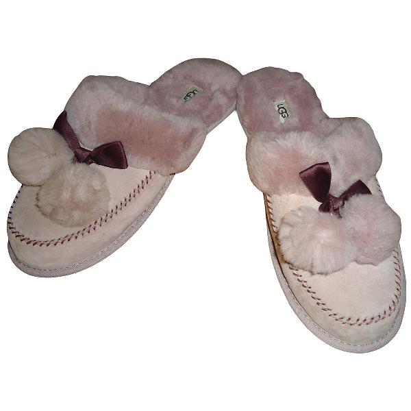 Ugg Pink Fur Sandals