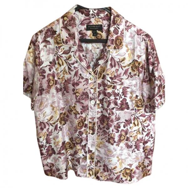 Burberry Multicolour Cotton  Top