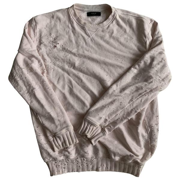 Amiri Pink Cotton Knitwear & Sweatshirts