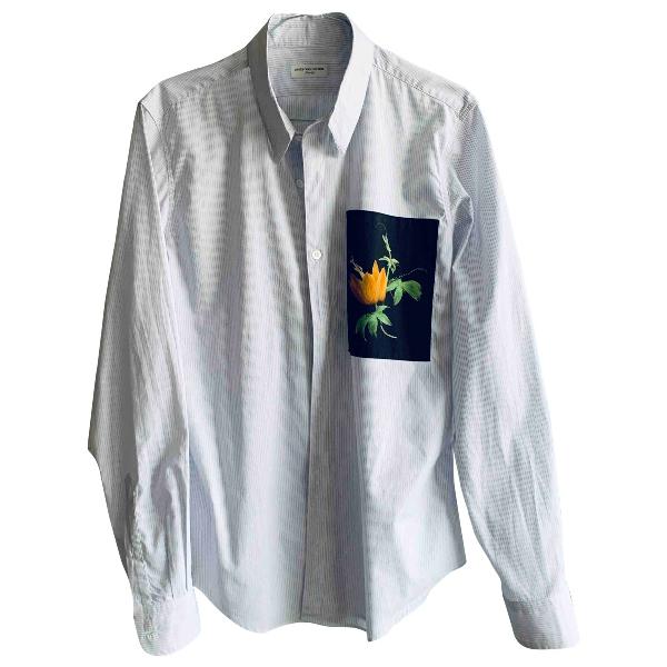 Dries Van Noten White Cotton Shirts