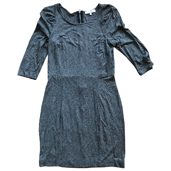 Sandro Grey Cotton - Elasthane Dress