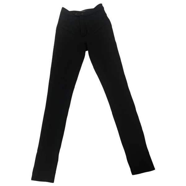 Isabel Marant Black Wool Trousers