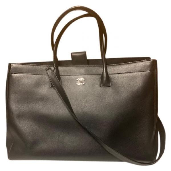 Chanel Executive Black Leather Handbag