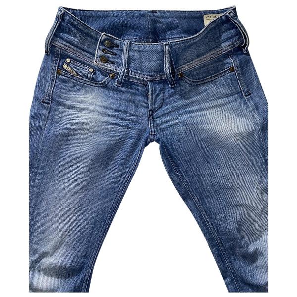 Diesel Blue Cotton - Elasthane Jeans