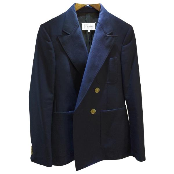 Maison Margiela Navy Wool Suits