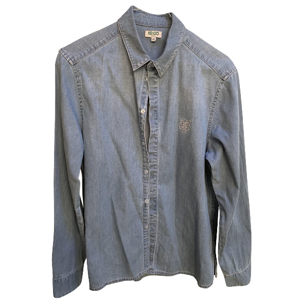 Kenzo Blue Denim - Jeans  Top