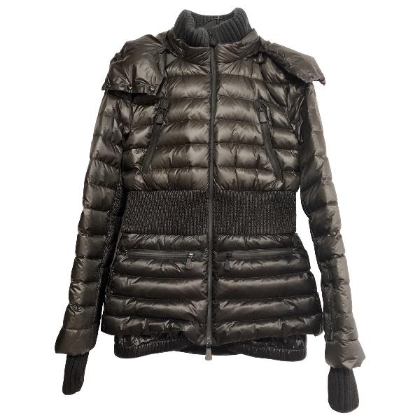 Moncler Grenoble Green Coat