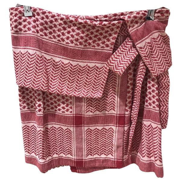 Rough Studios Pink Cotton Skirt