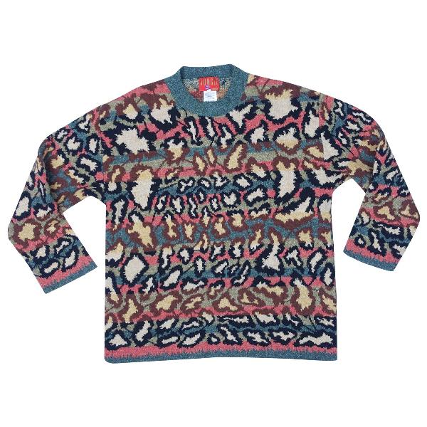 Kenzo Khaki Wool Knitwear