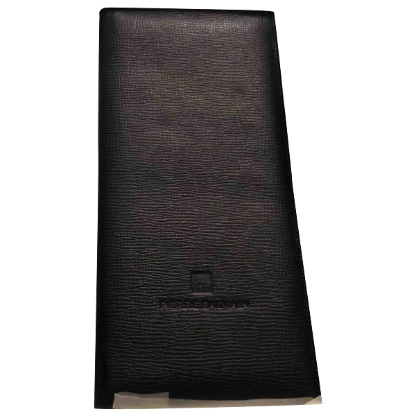 Pierre Balmain Black Leather Purses, Wallet & Cases