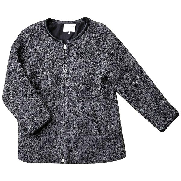 Iro Grey Wool Jacket