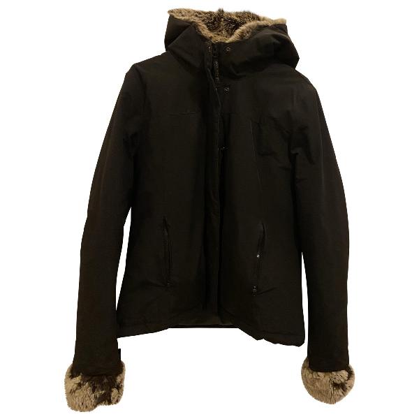 Woolrich Black Cotton Jacket