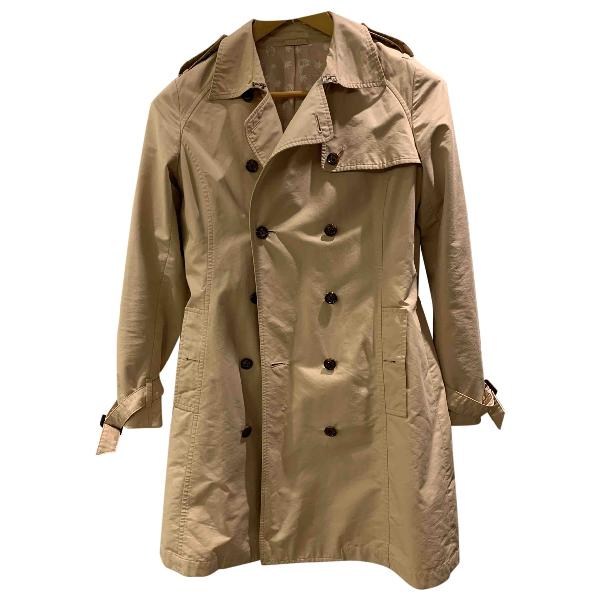 Lucien Pellat-finet Camel Cotton Coat