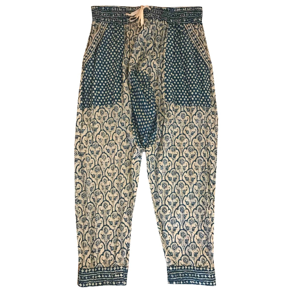 Etoile Isabel Marant Multicolour Cotton Trousers