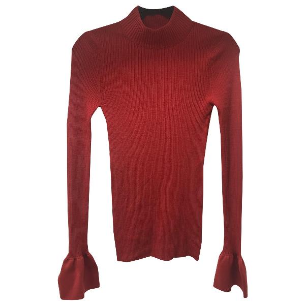 Khaite Red Wool Knitwear