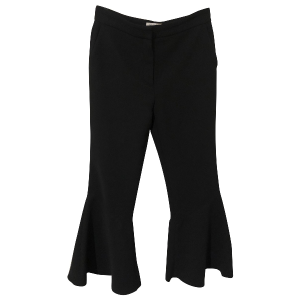 Sandro Black Trousers