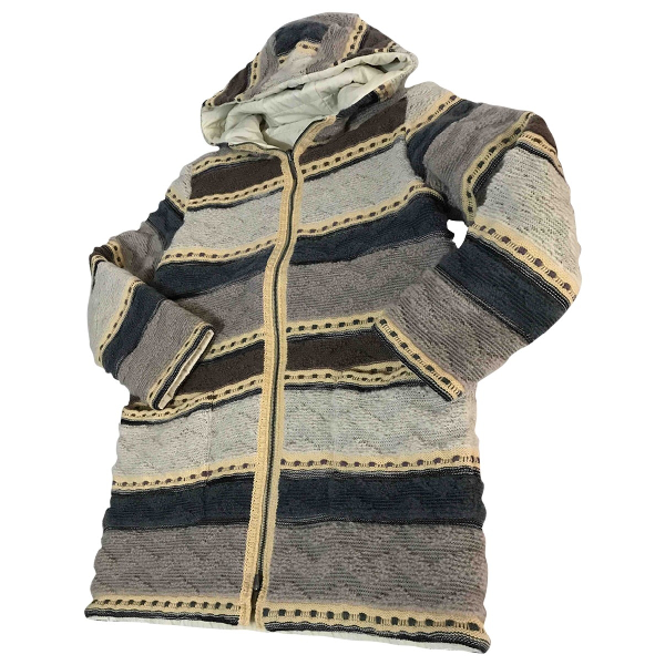 Missoni Beige Wool Coat