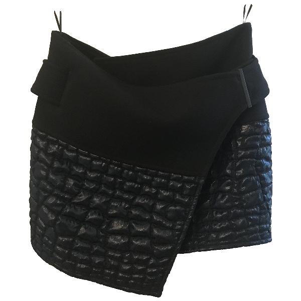 Kenzo Blue Wool Skirt