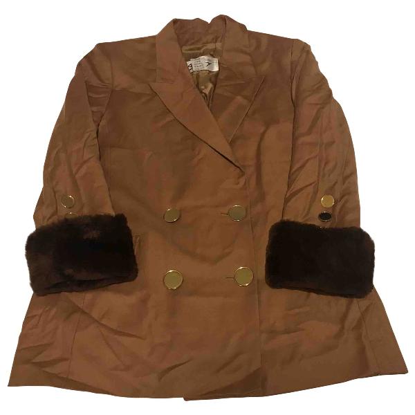 Genny Camel Wool Coat