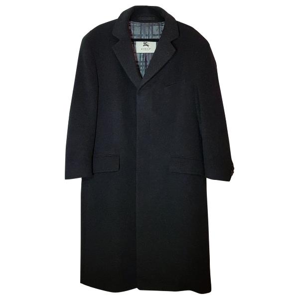 Burberry Anthracite Cashmere Coat