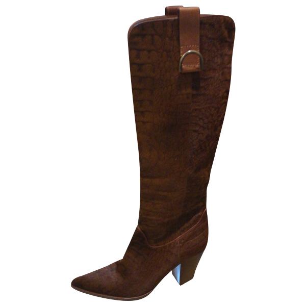 Casadei Pony-style Calfskin Boots