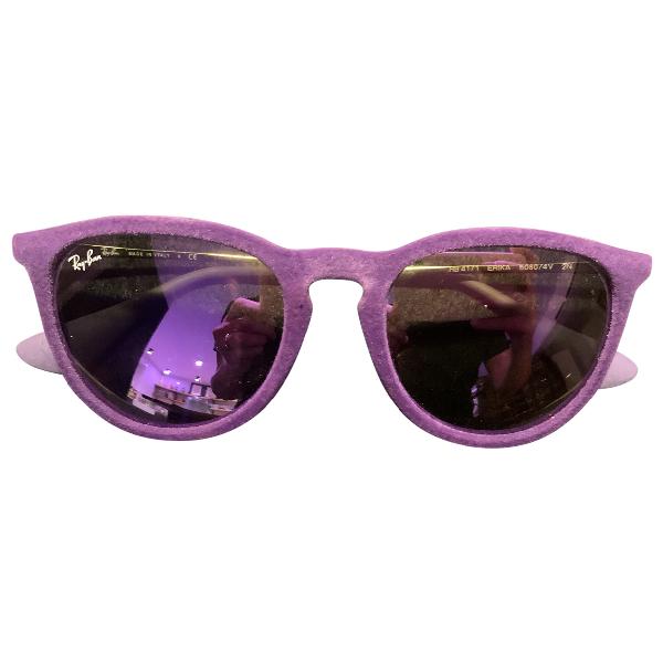 Ray Ban Purple Sunglasses