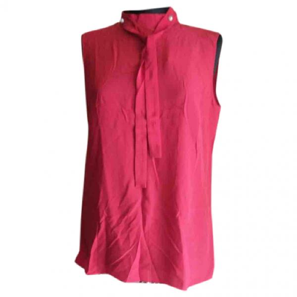 Gucci Red Silk  Top