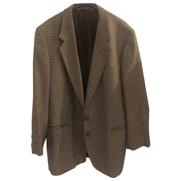 Burberry Brown Wool Jacket
