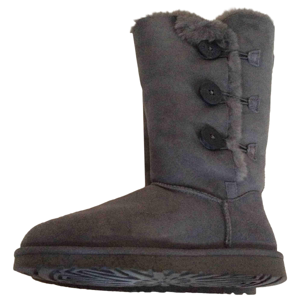 Ugg Grey Leather Boots