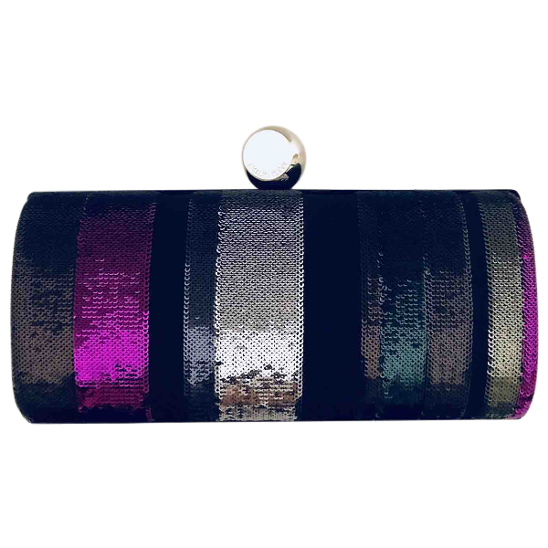 Emilio Pucci Multicolour Glitter Clutch Bag