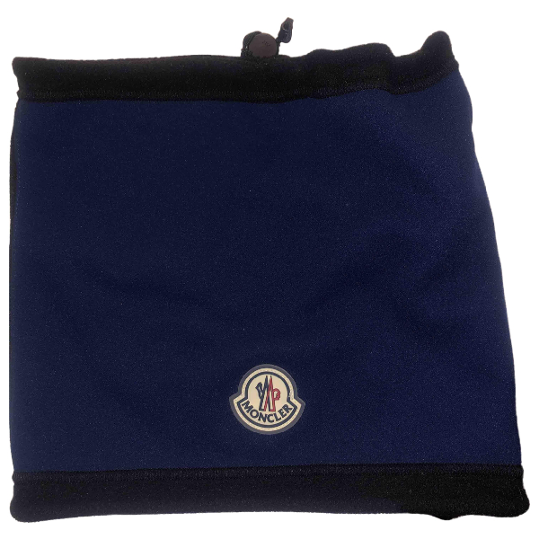 Moncler Blue Scarf & Pocket Squares