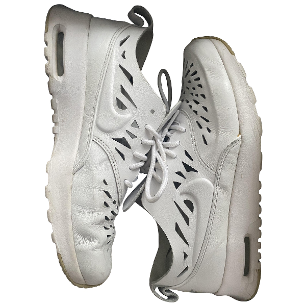 Nike Air Max  White Leather Trainers