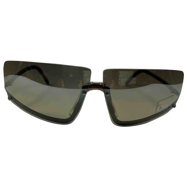 ChloÉ Anthracite Metal Sunglasses