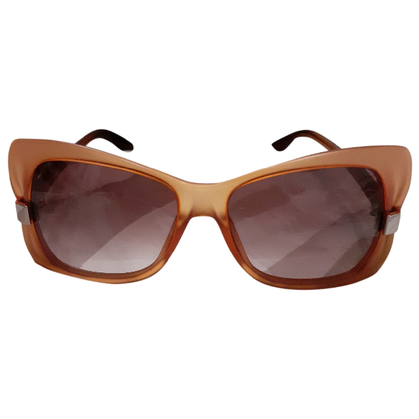 Max Mara Orange Sunglasses