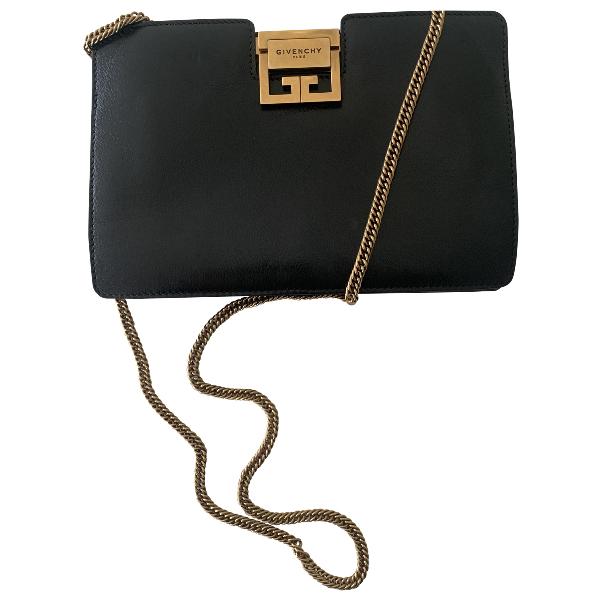 Givenchy Gv3 Black Leather Handbag