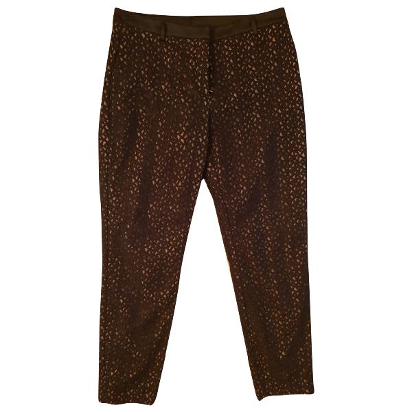 True Royal Brown Trousers