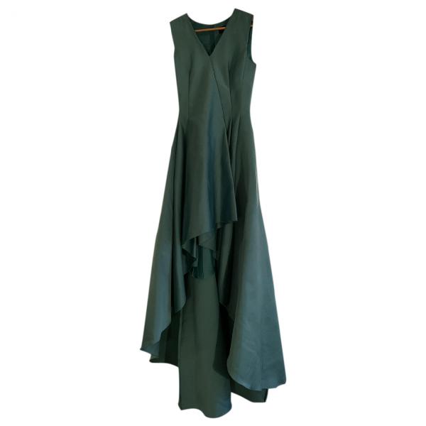 Paule Ka Blue Silk Dress