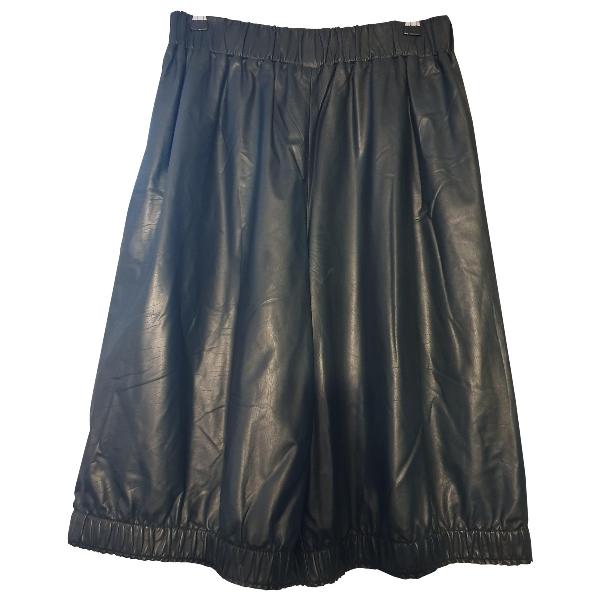ChloÉ Green Leather Shorts