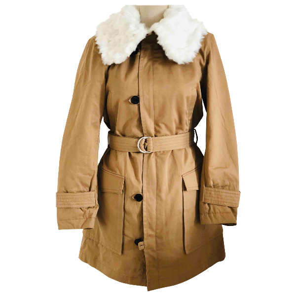 Claudie Pierlot Beige Cotton Coat