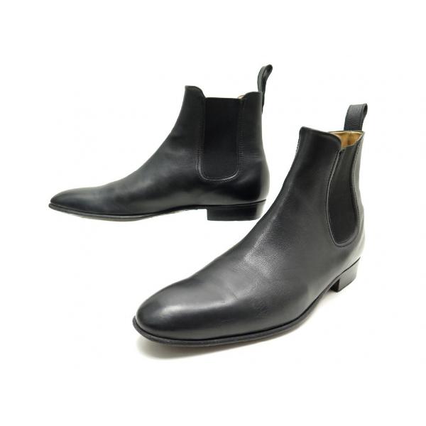 Jm Weston Black Leather Boots