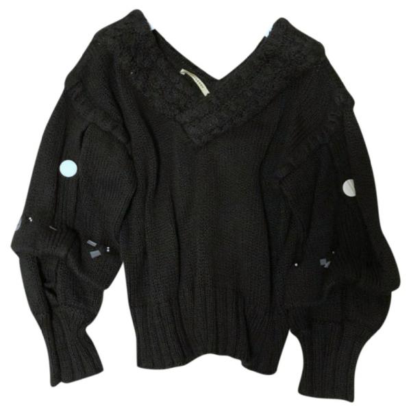 Hellessy Black Cotton Knitwear