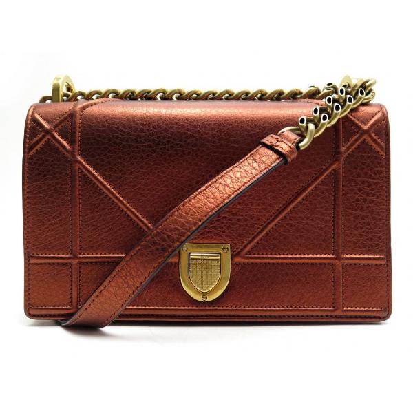 Dior Ama Brown Leather Handbag