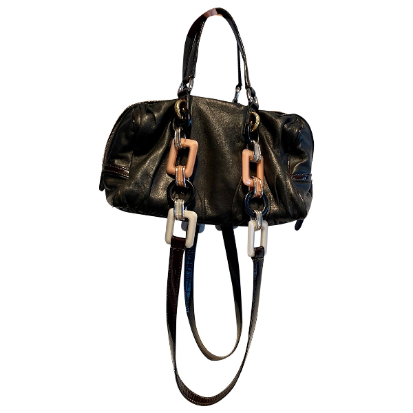 Dolce & Gabbana Black Leather Handbag